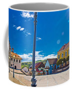 Marija Bistrica Square Colorful Panorama Coffee Mug by Brch Photography