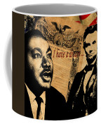 Martin Luther King Jr 2 Coffee Mug by Andrew Fare