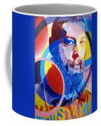 Matisyahu In Circles Coffee Mug by Joshua Morton