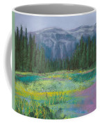 Meadow In The Cascades Coffee Mug by David Patterson
