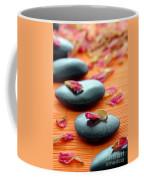 Meditation Zen Path Coffee Mug by Olivier Le Queinec
