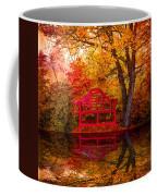 Meet Me At The Pond Coffee Mug by Debra and Dave Vanderlaan