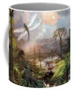 Meganeura In Upper Carboniferous Coffee Mug by Science Source
