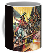 Men Of The Jolly Roger Coffee Mug by Ron Embleton