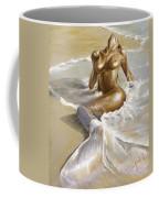 Mermaid Coffee Mug by Karina Llergo