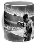 Mickey Mantle Coffee Mug by Gianfranco Weiss