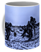 Midnight Battle Stay Close Coffee Mug by Thomas Woolworth