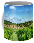 Mission Peninsula Vineyard Ll Coffee Mug by Michelle Calkins