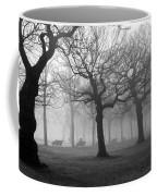 Mist In The Park Coffee Mug by Mark Rogan