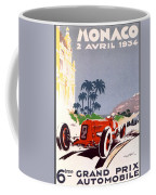 Monaco Grand Prix 1934 Coffee Mug by Georgia Fowler
