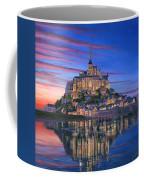 Mont Saint-michel Soir Coffee Mug by Richard Harpum