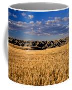 Montana   Field And Hills Coffee Mug by Anonymous