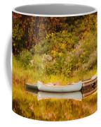 Montpelier Canoe Coffee Mug by Deborah Benoit