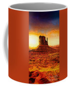 Monument Valley Coffee Mug by Mo T