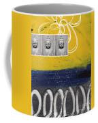 Morning Buddha Coffee Mug by Linda Woods