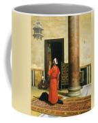 Morning Prayers Coffee Mug by Ludwig Deutsch