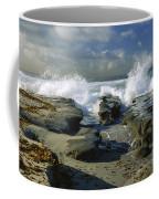 Morning Tide In La Jolla Coffee Mug by Sandra Bronstein