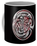 Morphed Art Globe 15 Coffee Mug by Rhonda Barrett