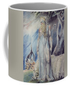 Moses And The Burning Bush Coffee Mug by William Blake
