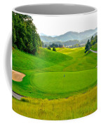 Mountain Golf Coffee Mug by Frozen in Time Fine Art Photography