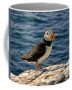 Mr. Puffin Coffee Mug by Michael Pickett