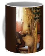 Music - Harp - The Harp Coffee Mug by Mike Savad