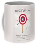 My Superhero Ice Pop - Captain America Coffee Mug by Chungkong Art