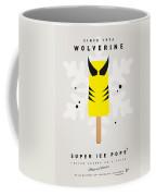 My Superhero Ice Pop - Wolverine Coffee Mug by Chungkong Art