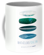 My Surfspots Poster-3-punta De Lobos-chile Coffee Mug by Chungkong Art