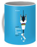 My World Championships Minimal Poster Coffee Mug by Chungkong Art