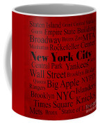 New York City Coffee Mug by Denyse and Laura Design Studio