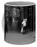 New York Street Photography 26 Coffee Mug by Frank Romeo