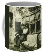 Night On The El Train Coffee Mug by Edward Hopper