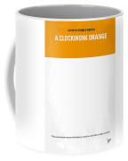 No002 My A Clockwork Orange Minimal Movie Poster Coffee Mug by Chungkong Art