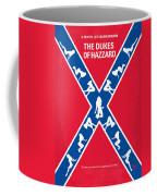 No108 My The Dukes Of Hazzard Movie Poster Coffee Mug by Chungkong Art
