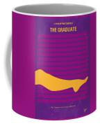 No135 My The Graduate Minimal Movie Poster Coffee Mug by Chungkong Art
