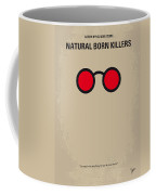 No139 My Natural Born Killers Minimal Movie Poster Coffee Mug by Chungkong Art