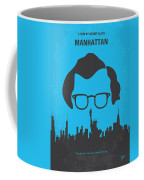 No146 My Manhattan Minimal Movie Poster Coffee Mug by Chungkong Art