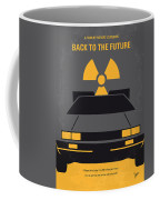 No183 My Back To The Future Minimal Movie Poster Coffee Mug by Chungkong Art