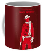 No184 My Django Unchained Minimal Movie Poster Coffee Mug by Chungkong Art