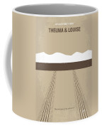No189 My Thelma And Louise Minimal Movie Poster Coffee Mug by Chungkong Art