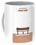 No193 My Forrest Gump Minimal Movie Poster Coffee Mug by Chungkong Art