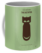 No212 My The Dictator Minimal Movie Poster Coffee Mug by Chungkong Art
