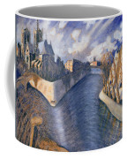 Notre Dame Cathedral Coffee Mug by Charlotte Johnson Wahl