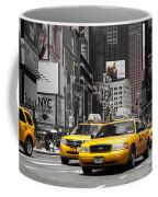 Nyc Yellow Cabs - Ck Coffee Mug by Hannes Cmarits