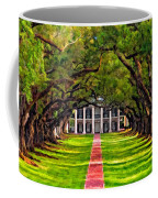 Oak Alley Paint Version Coffee Mug by Steve Harrington