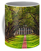 Oak Alley Coffee Mug by Steve Harrington