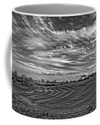 October Patterns Bw Coffee Mug by Steve Harrington
