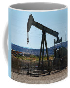 Oil Well  Pumper Coffee Mug by Dany Lison