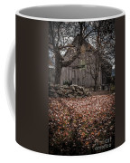 Old Barn In Autumn Coffee Mug by Edward Fielding